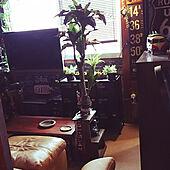 部屋全体/男前部屋/ブルックリンスタイル/間接照明/間接照明のある暮らし...などのインテリア実例 - 2020-10-17 09:55:08
