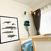 IKEA/ウォールランプ/子供部屋/北欧/ベッド周りのインテリア実例 - 2021-04-20 15:49:49