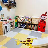 こども部屋/こどもと暮らす/おもちゃ収納/DIY/北欧...などのインテリア実例 - 2021-06-17 00:50:07