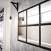 壁/天井/DIY/男前/カフェ風/壁紙屋本舗...などのインテリア実例 - 2020-03-31 21:43:46