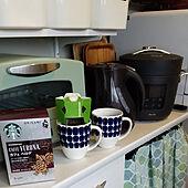 キッチン/おうちカフェ/スターバックス/コーヒータイム/コーヒーのある暮らし...などのインテリア実例 - 2021-01-24 10:32:54