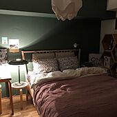 寝具/リノベーション/マンション暮らし/セルフペイントの壁/北欧インテリア...などのインテリア実例 - 2020-07-12 21:25:21