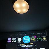 プロジェクター/YouTube鑑賞中/hulu/Amazon/寝室の照明...などのインテリア実例 - 2021-10-15 23:29:02