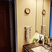 バス/トイレ/紫陽花の葉っぱ/時計/Simple human/ZARA HOME...などのインテリア実例 - 2021-06-10 11:08:31