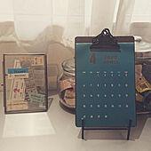 オリジナルカレンダー/無垢の家/平屋の家/アンティーク/古道具...などのインテリア実例 - 2020-04-04 21:58:20