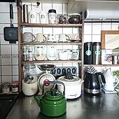 キッチン/癒しセット/おうちカフェ/CHUMS/キャンプ道具...などのインテリア実例 - 2021-02-14 09:00:08