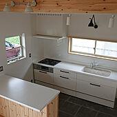 キッチン/白い家/無垢の床/照明/ランペグラス...などのインテリア実例 - 2021-06-19 12:58:28