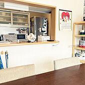 食器棚/ねこと暮らす。/テーマのあるお部屋作り/IKEA/ニトリ...などのインテリア実例 - 2021-02-22 13:04:46