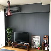 壁/天井/DIY/観葉植物/カフェ風/照明...などのインテリア実例 - 2021-10-04 11:38:17