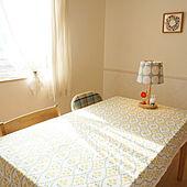 机/おはようございます/テーブル/テーブルクロス/ミッフィー...などのインテリア実例 - 2020-11-20 09:20:33