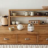 キッチン/お茶セット/飲み物コーナー/キッチンボードDIY/キッチン収納DIY...などのインテリア実例 - 2021-02-06 11:19:27