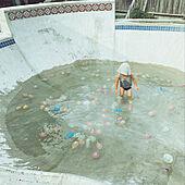 水風船/水遊び/スケボー/アメリカンビンテージ/pool...などのインテリア実例 - 2021-07-22 23:19:33