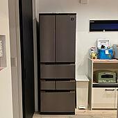 SHARPの冷蔵庫/冷蔵庫/キッチンのインテリア実例 - 2021-08-02 23:26:07