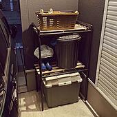 エクステリア/すのこ棚/すのこDIY/コーナン/DIY棚...などのインテリア実例 - 2020-10-17 15:08:51