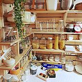 キッチン/おはようございます◡̈♥︎/ふたり分/調味料棚DIY/パスタ置き場...などのインテリア実例 - 2020-04-08 07:50:05