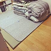 除湿シート/畳マットレス/寝室/マンション/生活感...などのインテリア実例 - 2021-01-17 20:29:56