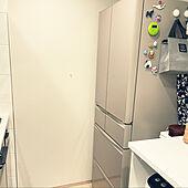 おまかせAI/MITSUBISHI冷蔵庫/冷蔵庫/RoomClipアンケート/キッチンのインテリア実例 - 2021-03-05 01:26:17