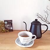 おうちカフェ/スターバックス/コーヒータイム/コーヒーのある暮らし/カフェベロナ...などのインテリア実例 - 2021-01-26 10:30:49