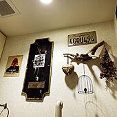 イタリアのハート型ソープ/DIYの鳥籠のワイヤーアート/ドライフラワー/海岸で拾った流木/ショップオリジナルメロディーボード...などのインテリア実例 - 2021-09-19 03:48:24