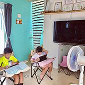 おりたたみ椅子/アウトドアチェア/流木/飾り棚DIY/ドライフラワーのある暮らし...などのインテリア実例 - 2021-08-05 22:39:31