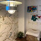 ルイスポールセン/壁紙/こどもの絵/IKEA/フェイクグリーン...などのインテリア実例 - 2021-09-24 09:56:48