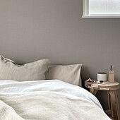 IKEA/アクセントクロス/クッション/寝室インテリア/ベッドルーム...などのインテリア実例 - 2021-04-17 10:00:19