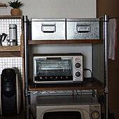 キッチン/無印良品/トタンボックス/スチールラック収納/台所の収納...などのインテリア実例 - 2021-08-03 16:32:36
