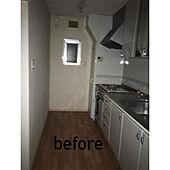 DIY/モノトーン/リノベーション/キッチンのインテリア実例 - 2021-04-21 01:15:34