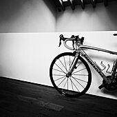 モノトーン/ビアンキ/ロードバイク/アンティーク/カフェ風...などのインテリア実例 - 2020-02-28 10:10:51