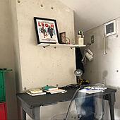 作戦会議/一人暮らし/DIY/北欧/モノトーン...などのインテリア実例 - 2020-08-09 15:11:53