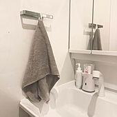 洗面所/賃貸/Instagram:yui____k/バス/トイレのインテリア実例 - 2020-12-03 22:47:13