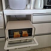 キッチン/RoomClipショッピング/夏のスペシャルクーポン/BRUNOトースター/ぐうたら主婦...などのインテリア実例 - 2021-09-28 13:15:18