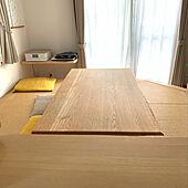 家具のお手入れ/みつろうクリーム/タモテーブル/シンプル/ナチュラルモダン...などのインテリア実例 - 2020-09-27 19:27:49