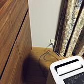 加湿器付き空気清浄機/コンセント/カウンター収納/壁/天井のインテリア実例 - 2020-12-11 06:44:26