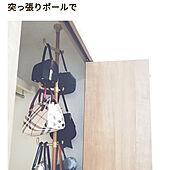 ベッド周り/かばん 収納/つっぱり棒のインテリア実例 - 2021-09-27 15:07:54