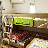 2段ベッド/子供部屋/こどもと暮らす/5人家族/ベッド周りのインテリア実例 - 2021-05-13 13:06:36