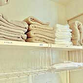 タオル収納/洗濯ネット収納/脱衣所収納棚/マンション/IKEA...などのインテリア実例 - 2021-07-26 15:42:34
