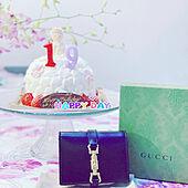 ドレス型ケーキ/先月の閲覧回数は24回の娘。/誕生日/部屋全体のインテリア実例 - 2021-03-04 18:11:21