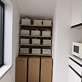 キッチン/無印良品収納のインテリア実例 - 2021-05-12 19:57:30