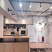 「好きや理想のいいとこミックス♪リノベで叶えた、こだわりキッチン」 by usameguさん
