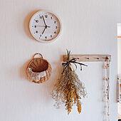 買いやすい価格で種類も豊富!リビングに置きたいニトリの時計