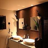洗面所もバスルームも☆リゾートホテルのような水回りでリラックス