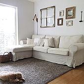 インテリア好きの心くすぐる☆ハイセンスなIKEAのソファー