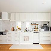 コンパクトな空間美にあこがれる♡壁付けキッチンの魅力