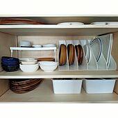 100均グッズを大活用♪食器やカトラリー収納を使いやすく