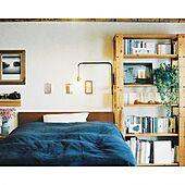 寝室を心地いい空間に整える☆無印良品の寝具&カバー