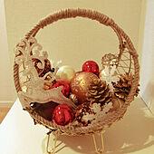 小さなスペースで私らしく飾る☆クリスマスディスプレイ