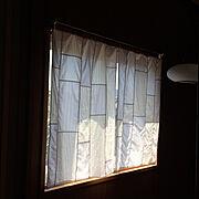 カーテンのインテリア実例