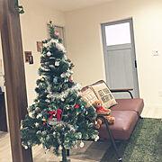 セリア クリスマスのインテリア実例