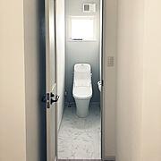 2階トイレのインテリア実例